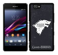 HARD SERIES CASE FITS SONY XPERIA Z1 COMPACT MINI GAME OF THRONES STARK
