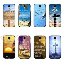 Christian Bible Verse Life Love Quote Clip Case for Samsung Galaxy S4 IV 9500 S5
