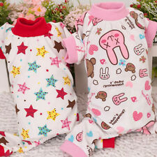 Doggie Puppy Star/Rabbit Pattern Pajamas Clothes Pet Cute Jumpsuit Shirt Costume