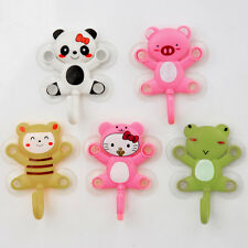 5COLORS FREE SHIP CHEAP New Amazing Cartoon Kitchen Bathroom Shower Suction Hook