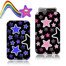 'STARS' Retro Slip Pouch for SAMSUNG GALAXY ACE PLUS GT S7500 Case Cover (M)