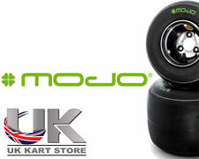 Mojo Kart W2 Rotax Max All Classes Tyre Deal with Jet Wheels Silver & Black