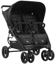 Valco Baby Snap Duo Compact Lightweight Double Stroller Black Beauty NEW 2014