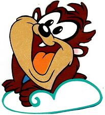 "5.5-8.5"" LOONEY TUNES BABY TAZ WALL SAFE STICKER BORDER CUT OUT"