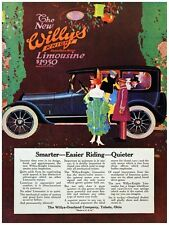 5052.New Willys Knight limousine.vintage car.POSTER.decor Home Office art