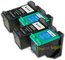 4 Compatible HP350/351XL Non-oem Ink Cartridges