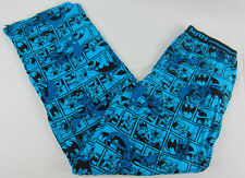 Mens NWT DC Comics Super Hero Batman Lounge Pant Comic Print Pajama Sz M L XL 2X