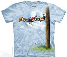 The Mountain Bird Tree Blue Cardinal Blue Jay Mens T-Shirt S,M,L,XL,2XL,3XL