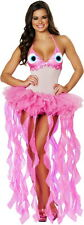 Cute Marine Sea Life Jellyfish Tutu Skirt Halloween Costume Outfit Adult Women
