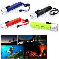 New Waterproof Lamp Professional Underwater Diving Flashlight Torch LED Light
