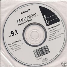 SOFTWARE CANON EOS Digital Camera Solution Disk CD