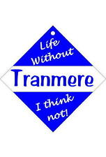 Tranmere Car/window signs / Personalised signs / flexible magnets