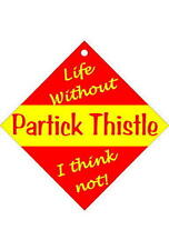 Partick Thistle Car signs / Personalised signs / slap-on magnets / transfers