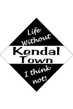 Kendal Town Car/window signs / Personalised signs / flexible magnets