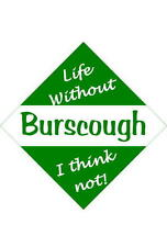 Burscough Car/window signs / Personalised signs / flexible magnets