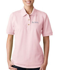 BIG DADDY Embroidery Embroidered Lady Woman Polo Shirt