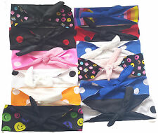 Unique Rockerbilly 1940s 1950s Lined Headband Head Scarf Fancy Dress Accessories