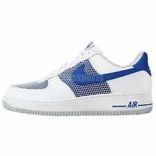 Nike Air Force 1 Blue White 2014 New Mens Classic Casual Shoes Sneakers AF1
