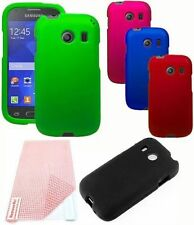 For Samsung Galaxy Ace Style S765C Cover Hard Snap On Case + Screen Protector