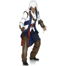 Assassins Creed Costume Adult Conner Cosplay Halloween Fancy Dress