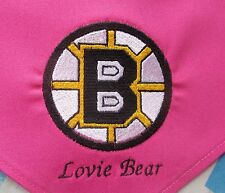 Boston Bruins Hockey Personalized Dog Bandana All Colors Available