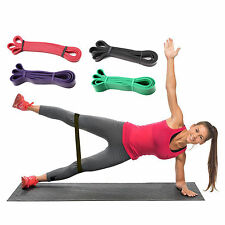 Resistance Bands Loop Crossfit Strength Training Fitness Exercise UK