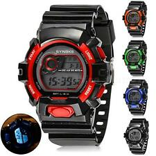 New Fashion Five Color Outdoor Sports Luminous Alarm Waterproof Watch FHRG