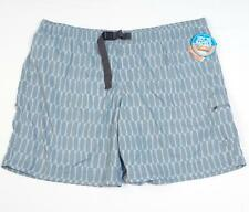 Columbia Omni Shade UPF 30 Palmerston Peak Brief Lined Printed Shorts Mens NWT