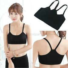 Hot Sexy Lady Women Modal Sports Yoga Athletic Solid Wrap Chest Strap Vest Tops