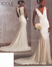 Vogue Bridal Original Dress Sewing pattern from UK V1032