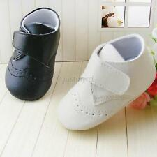 Infant Baby Girl Boys Kids PU Leather Shoes Soft Bottom Breathable Toddler Shoes