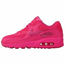 Nike Air Max 90 2007 GS Pink 2014 Girls Youth Womens Running Shoes Limited Atmos