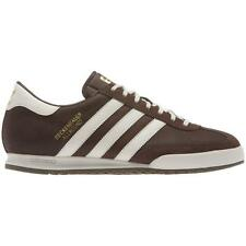 ADIDAS MENS BECKENBAUER BROWN SIZE 7 8 9 10 11 12 CASUAL LADS SNEAKERS TRAINERS