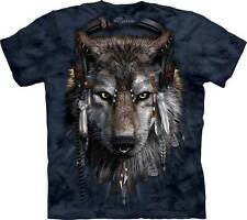 "WOLF ""DJ FEN"" ADULT T-SHIRT THE MOUNTAIN ----IN STOCK!!"