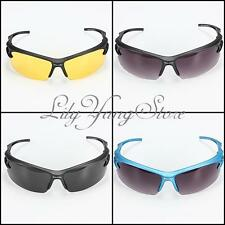 Mens Night Vision UV400 Driving Riding Running Glasses Sunglasses Lens Goggles