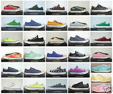 Neu All Star Converse Chucks Low Ox Leinen Damen Herren Sneaker viele Modelle