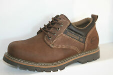 DOCKERS Shoes Men's Lace Up Low Shoes Boots, Brown