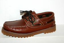 DOCKERS Shoes Lace Up Boat Shoe Moccasin Brown - Reh Women's Men's