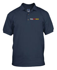 PHILIPPINES COUNTRY Emboidery Embroidered Unisex Golf Polo Shirt Navy