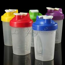 Pro Smart Shake Gym Protein Shaker Mixer Cup Blender Bottle Stainless Whisk Ball