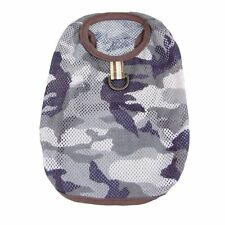 Pet Clothes Summer Dog Camo Camouflage T-shirts doggy puppy clothing Apparel