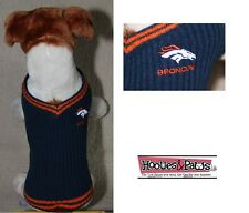 Denver Broncos NFL Football Officially Licensed Sweater Puppy Dogs All Sizes