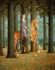 Rene Magritte The Blank Cheque Print