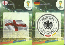 PANINI WORLD CUP ADRENALYN XL 2014 TEAM LOGOS PICK WHAT YOU NEED