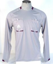 Adidas ClimaCool Formotion Gray Long Sleeve Referee Shirt Jersey Mens NWT