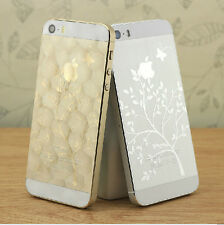 Hot! 3D Matte Front+Back Full Body Screen Protector Film Sticker for iPhone 5/5S