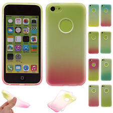 2014 BIG SALE~~ Gradient Color Protector Case Cover Shell For Apple iPhone 5C