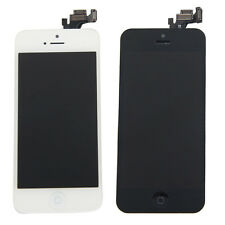 Black/White Iphone 5 LCD Button Touch Screen Digitizer + Camera A1428/A1429 OEM