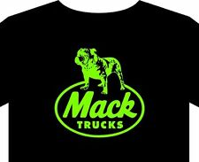 Men's T shirt S-5XL MACK emblem truck cap badge trucker logo gift jacket gloves