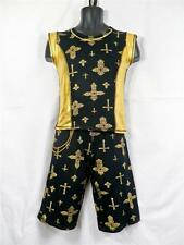 BOYS DANCE COSTUME HIP HOP URBAN STREET FREESTYLE DISCO OUTFIT TOP & PANTS STAGE